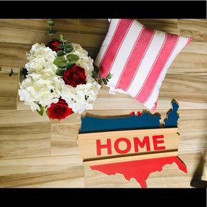 Other - 💕Host Pick💕 USA map wood sign